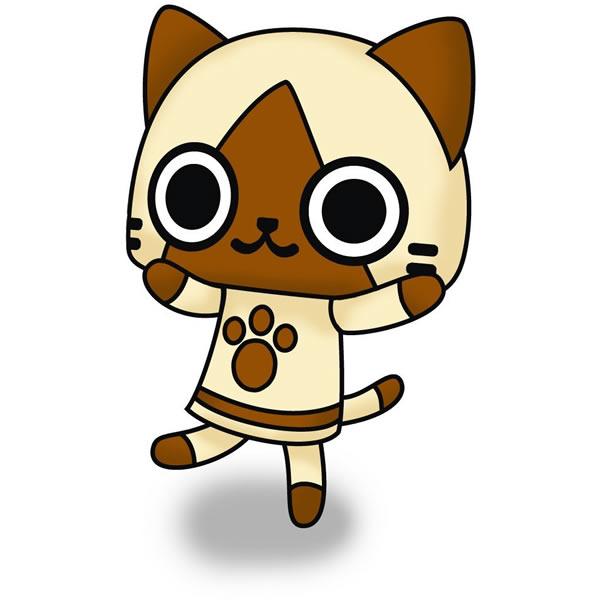猫キャラクターアイルー